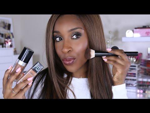Foundation 101! Shade Matching,  Application, Tips | Jackie Aina