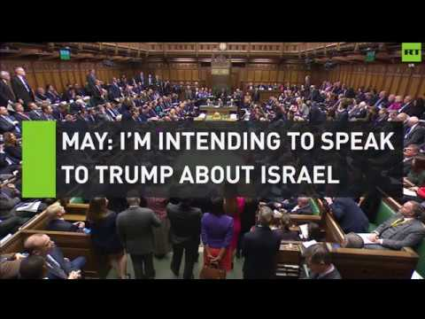 Bradshaw questions May on Trump's Israel announcement
