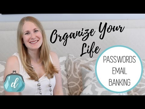 FREE Life Organizers   Passwords, Email & Budget