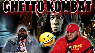 GHETTO KOMBAT X: PARTS 1-4 (YOU LAUGH YOU DRINK) 😂😂