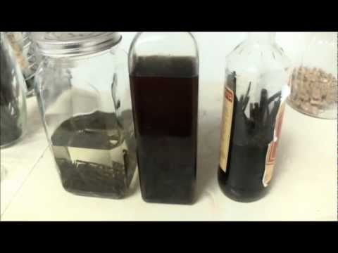 Pure Vanilla Extract - Homemade NO Chemicals!