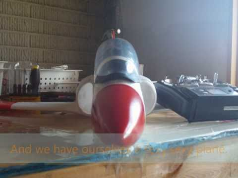 Hobbyking/Global Fly T45 rc edf jet: build video (HD)