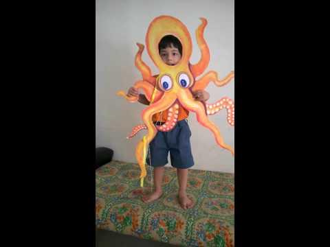 Viv fancy dress costume - octopus