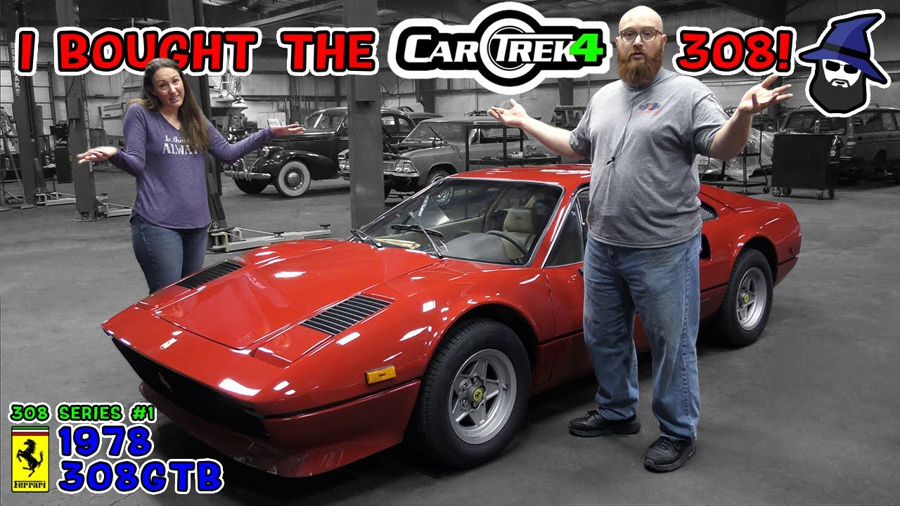 CAR WIZARD bought the Car Trek 4 Ferrari 308 from Tavarish! What could possibly be wrong with it?