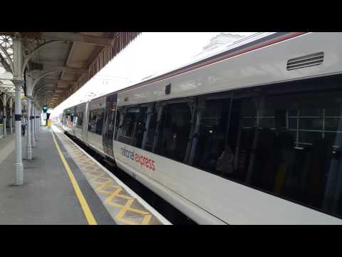 C2C Train at Southend Central Station