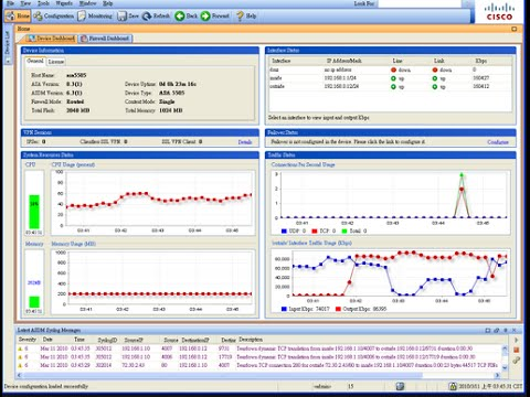 Cisco ASA Part 1: Basic Configuration