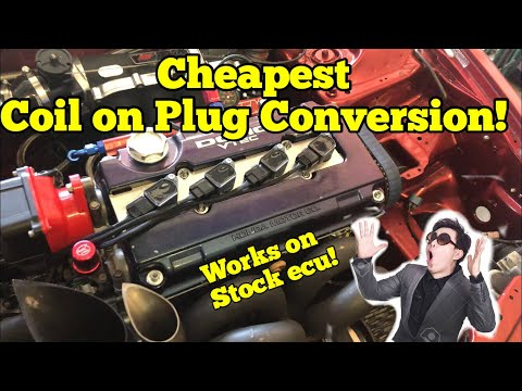 Most Affordable Coil On Plug SetUp!! || Burton Racing