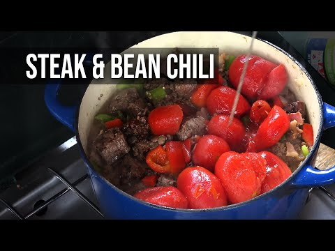 Steak and Bean Chili by the BBQ Pit Boys