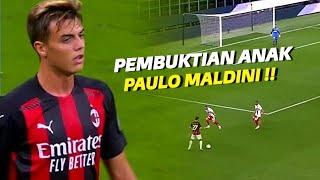 """""""The Next Legend of Milan"""" Lihatlah Betapa Mengagumkan Aksi Daniel Maldini Bersama AC Milan  !!"""