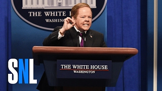 Sean Spicer Press Conference Cold Open (Melissa McCarthy) - SNL