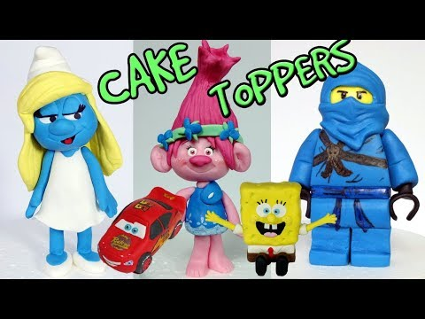 Kids CAKE TOPPERS compilation - Part 1