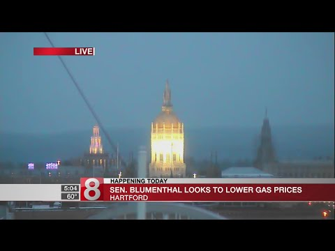 Blumenthal looks to lower gas prices