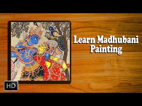 Learn How to Make Madhubani Painting - Madhubani Art - Basic Painting Techniques
