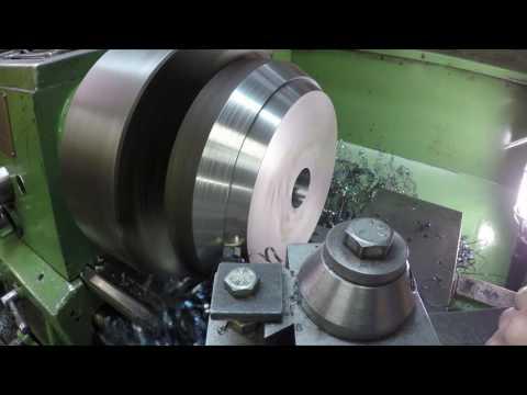 Machining a Wheel Balancer Cone