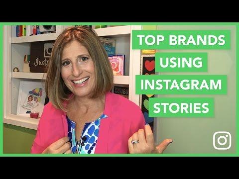 Top Brands Using Instagram Stories