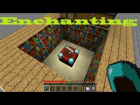 Docm77´s Minecraft Special: Enchanting Tools, Armor and Weapons