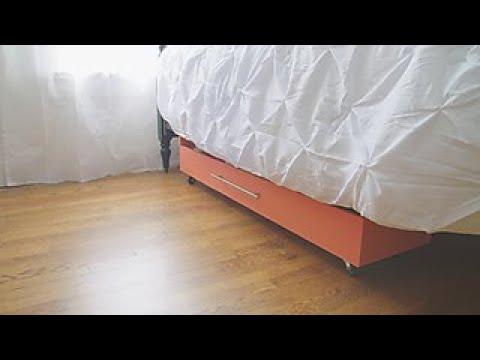 DIY Under-Bed Storage Drawer - DIY Network