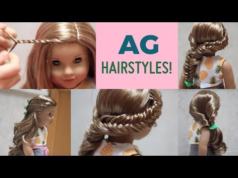 Three AG Hairstyles for Lea! ☆ GOTY 2016