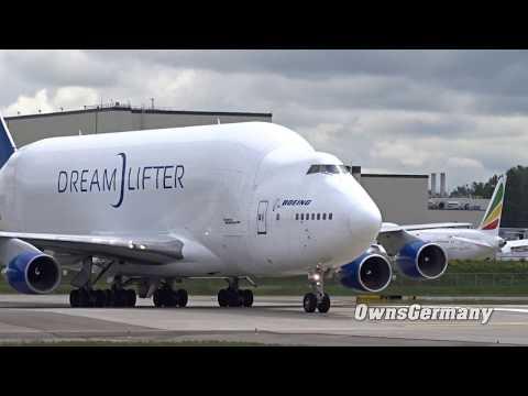 Boeing 747 LCF DreamLifter Landing @ KPAE Paine Field