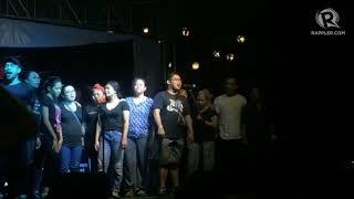 #MartialLaw45: PETA performs for Manlaban Para sa Karapatan concert rally