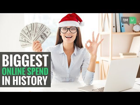 How To Capitalize On This Years Record Online Holiday Spending - DMW #56