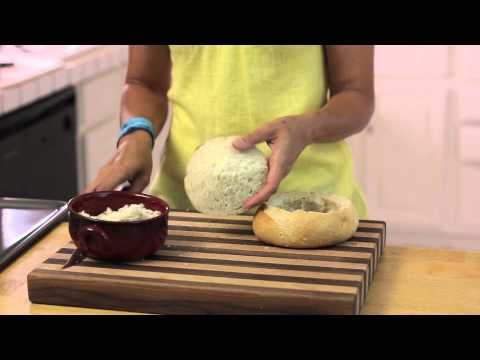 Making Bread Bowls With Sourdough Round Loaves : Cooking & Kitchen Tips