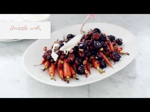 Maple Mushrooms Carrot Salad