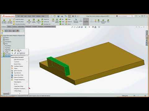 11, Online SolidWorks – More on Symmetry applying the Midpoint Sketch Relation