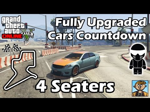 Fastest 4 Seat Cars (2016) - Best Fully Upgraded Cars In GTA Online