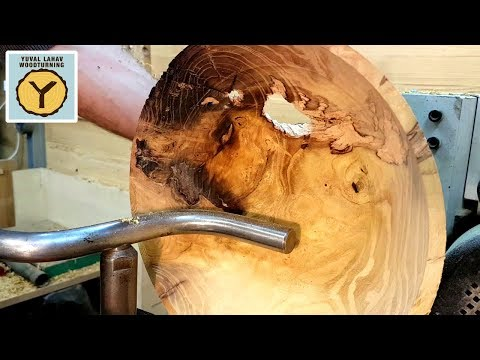 Woodturning Mulberry Bowl Break Down Part 2