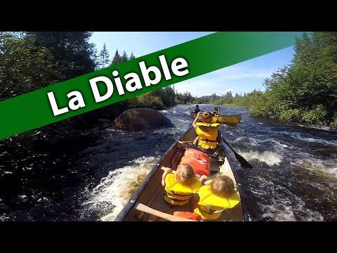 Canoe camping Mont-Tremblant (La Diable)