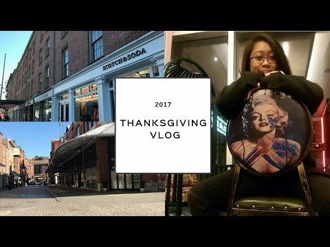 TIFFANY'S THANKSGIVING WEEKEND VLOG 2017