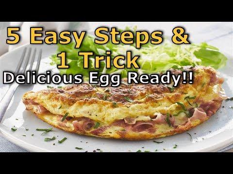 How To Make Easy Scrambled Eggs || 5 Easy Steps || 1 Trick