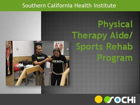 Physical Therapy Aide Certificate Program