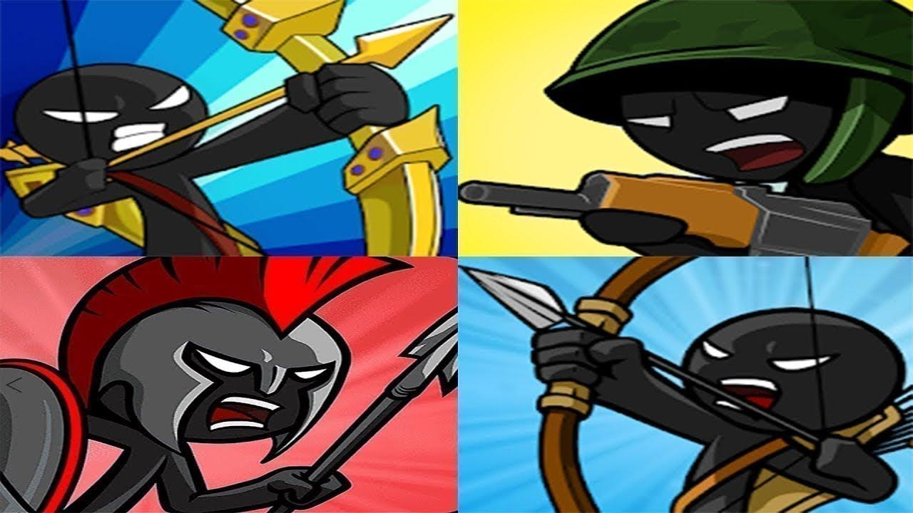 Stick War Legacy VS Stick War Legend War VS Stick War World War VS Stick War 3 - BEST STICKMAN GAMES