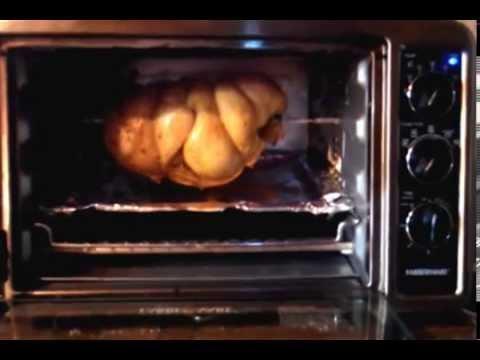 Faberware toaster oven rotisserie chicken
