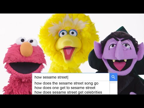 The Cast of 'Sesame Street' Answer the Web's Most Searched Questions   WIRED