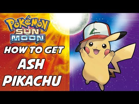 How to Get Ash Pikachu! Pokemon Sun and Moon Event Exclusive