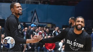 Is Kyrie Irving and Kevin Durant