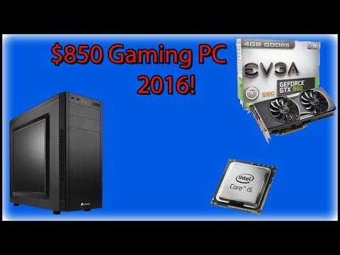 $850 GAMING PC Build 2017!