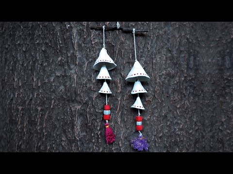 How To Make Clay Danglers   DIY Room Decorations For Valentine's Day