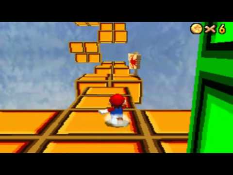 Super Mario 64 DS: Custom Level - Blocky Skyway