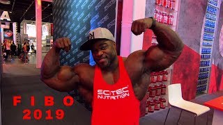 FIBO 2019 - I asked celebrities shocking question - training at the