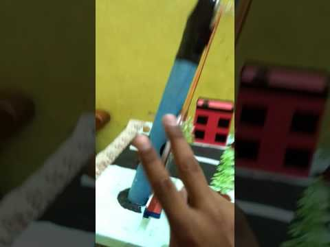 Working model of windmill for Science