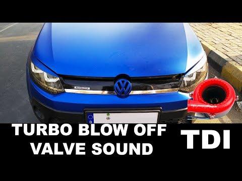 Fake Turbo Blow Off Valve Sound | Polo 1.2tdi BOV Sound