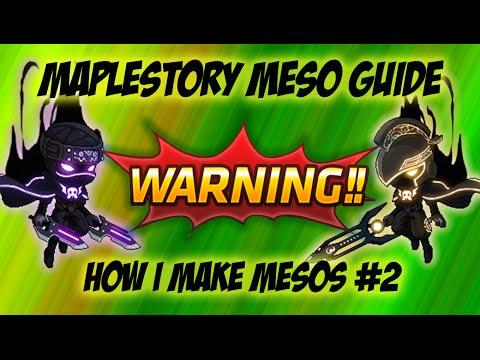 Maplestory - Meso Guide: How I Make Mesos #2 [Elite Boss]