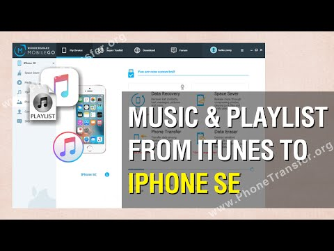 How to Sync Music & Playlist from iTunes to iPhone SE Without iTunes