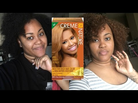Creme Of Nature Honey Blonde | Ki Likhi