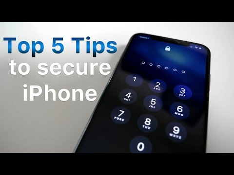 Top 5 Tips for Securing Your iPhone