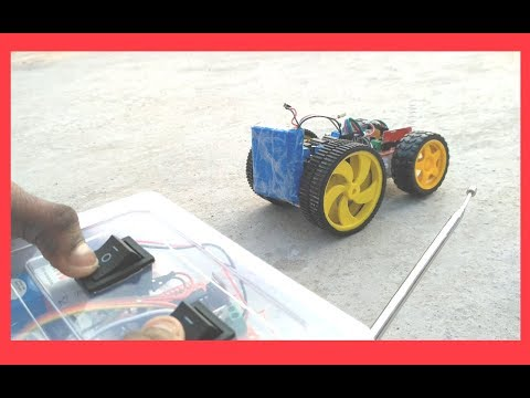 How to make a RC Racing Car | robot using Arduino Uno [Wireless]
